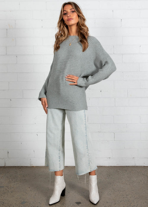 Peyton Sweater - Grey