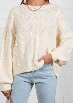 Damaris Sweater - Cream