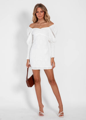 The Charm Dress - White
