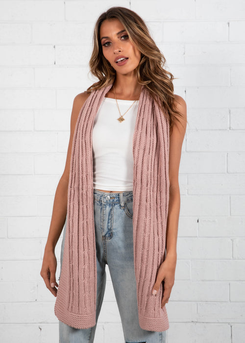 Real Deal Scarf - Blush