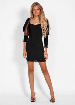 The Charm Dress - Black