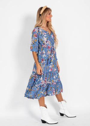 Olly Midi Dress - Lucilla