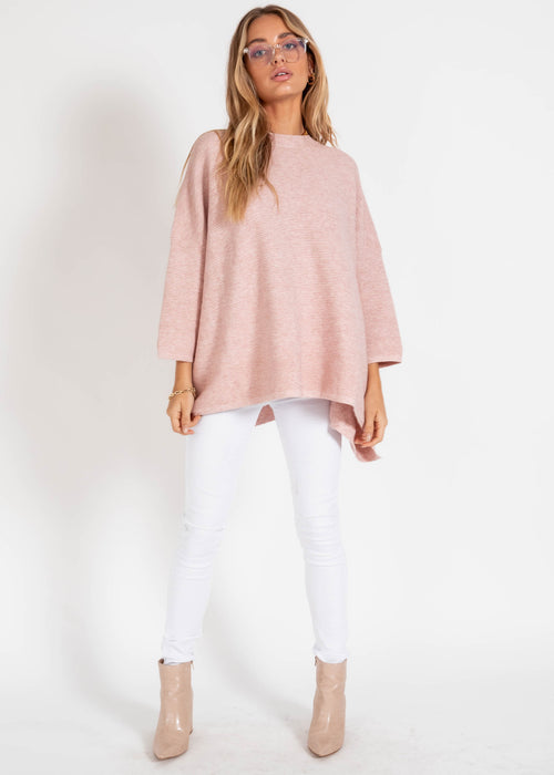 Allira Sweater - Blush