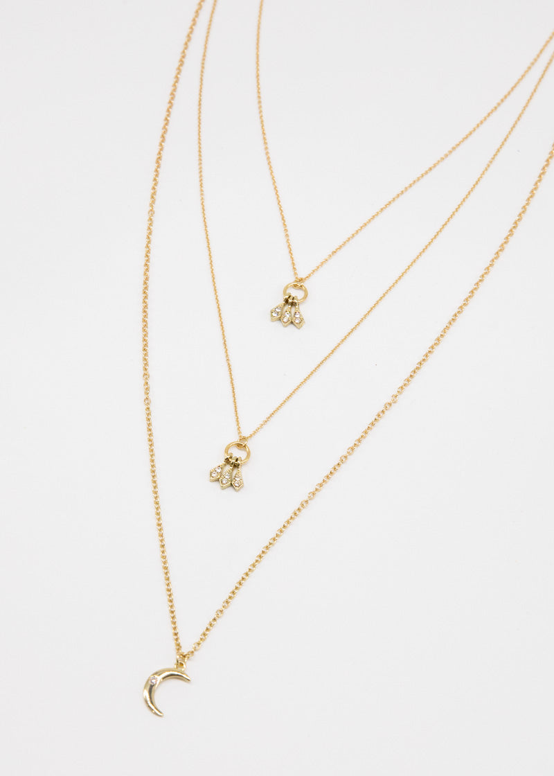 The Tribe Necklace - Gold