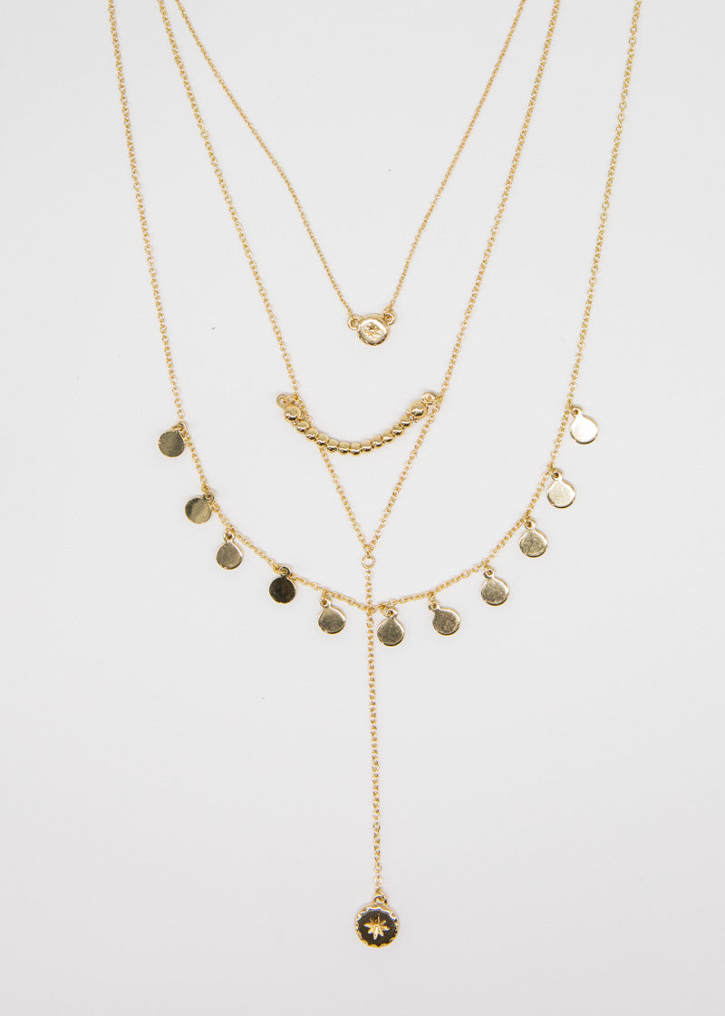 Maje Tribe Necklace - Gold