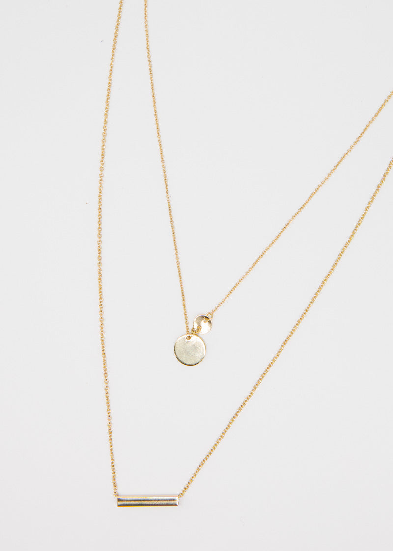 Oxford Necklace - Gold