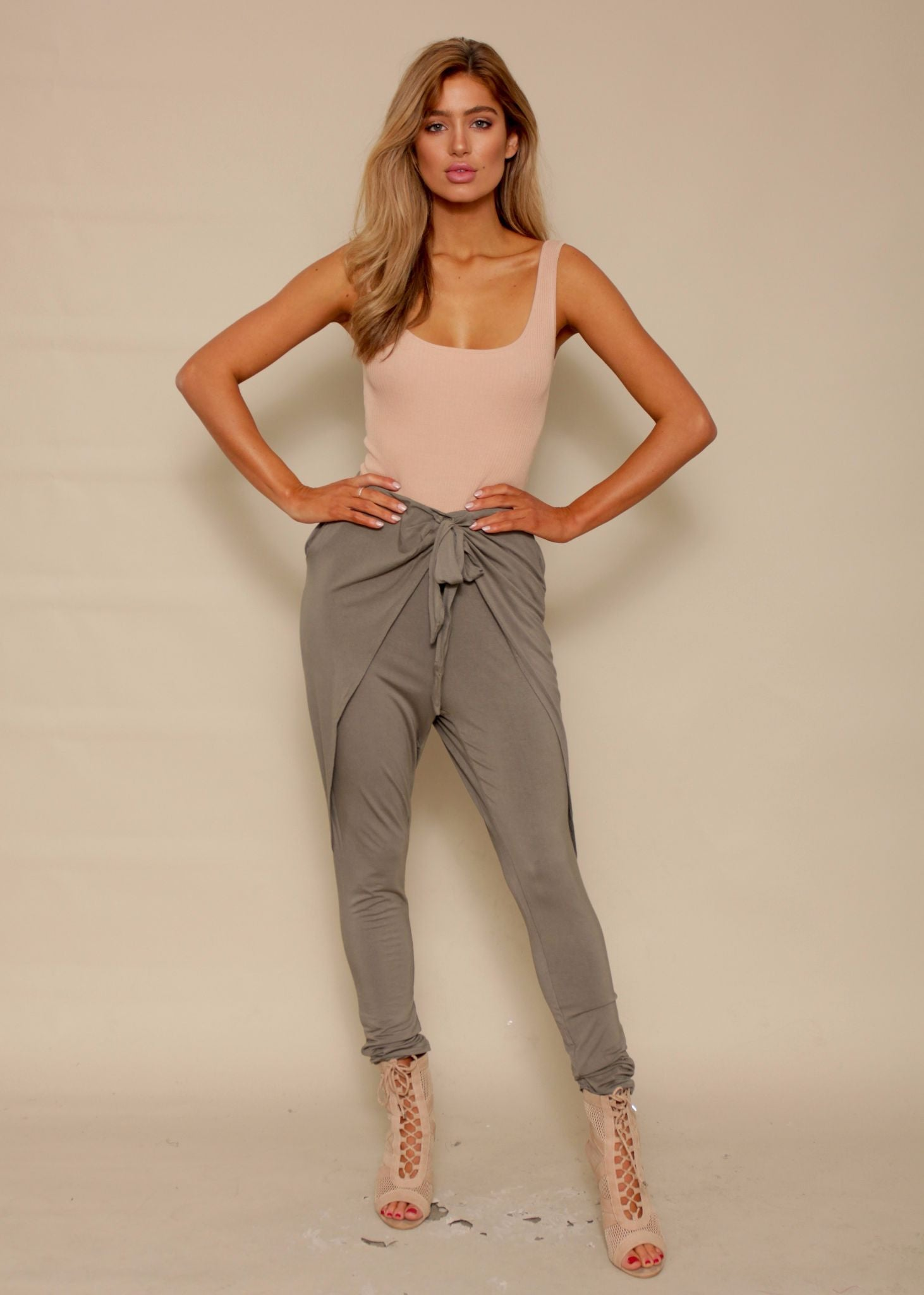 Sweet Solace Pants - Khaki