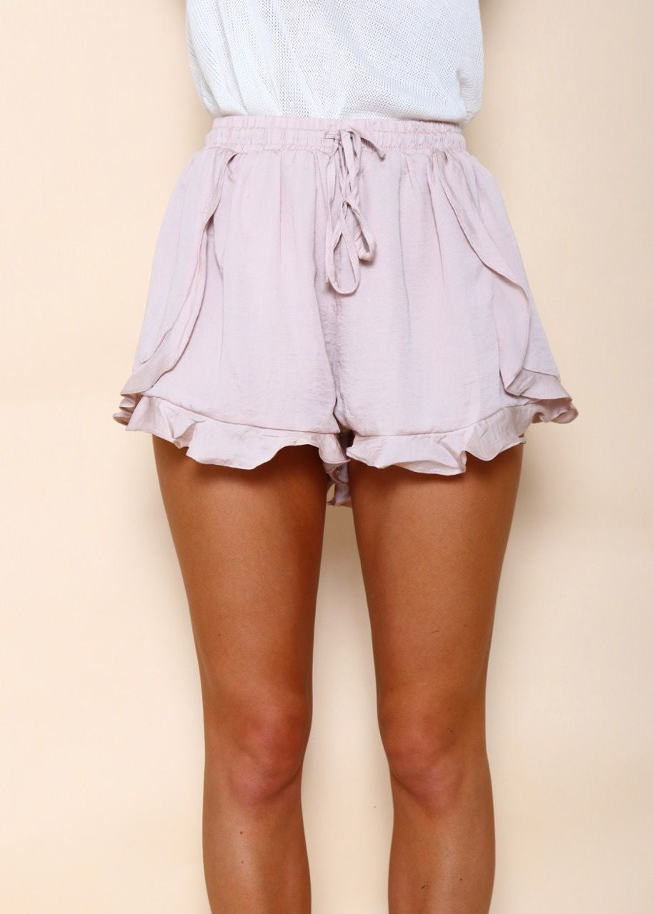 Amelia Play Shorts - Soft Pink