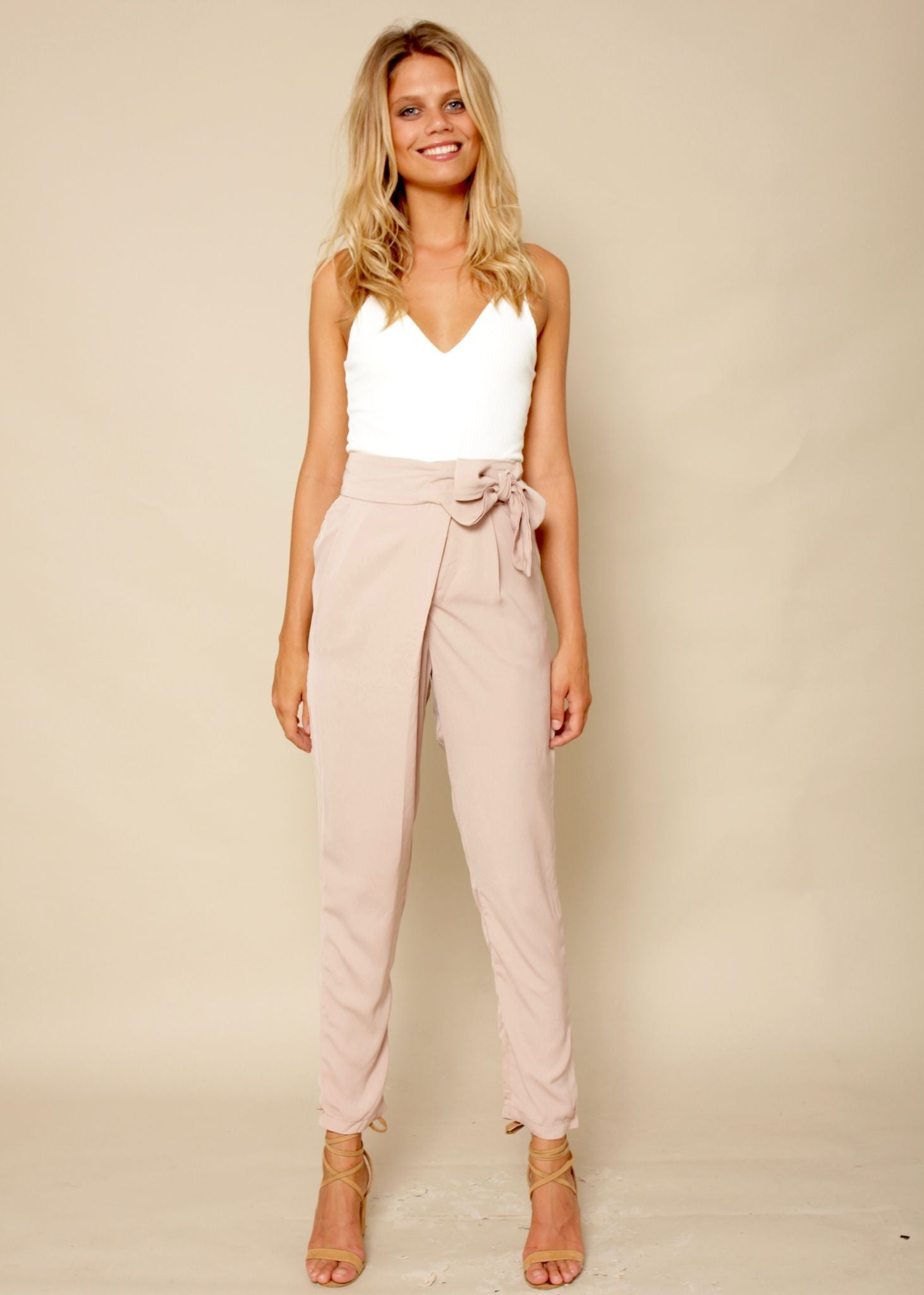 Babe Town Pants - Beige