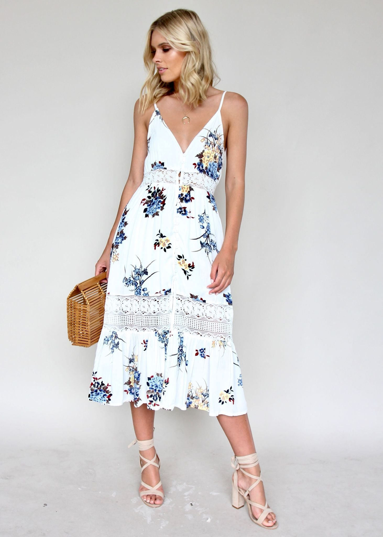About The Weekend Midi Dress - Cosmos