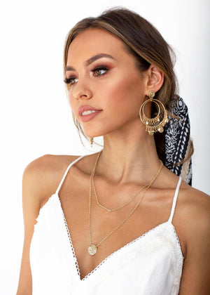 Malaa Necklace - Gold