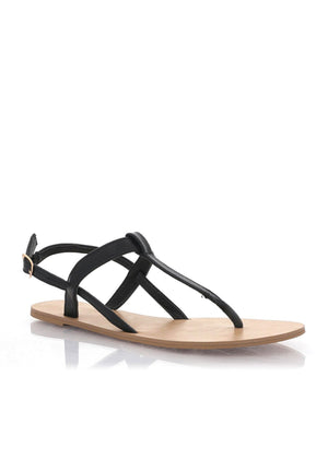 Billini - Morocco Sandal - Black Pebble