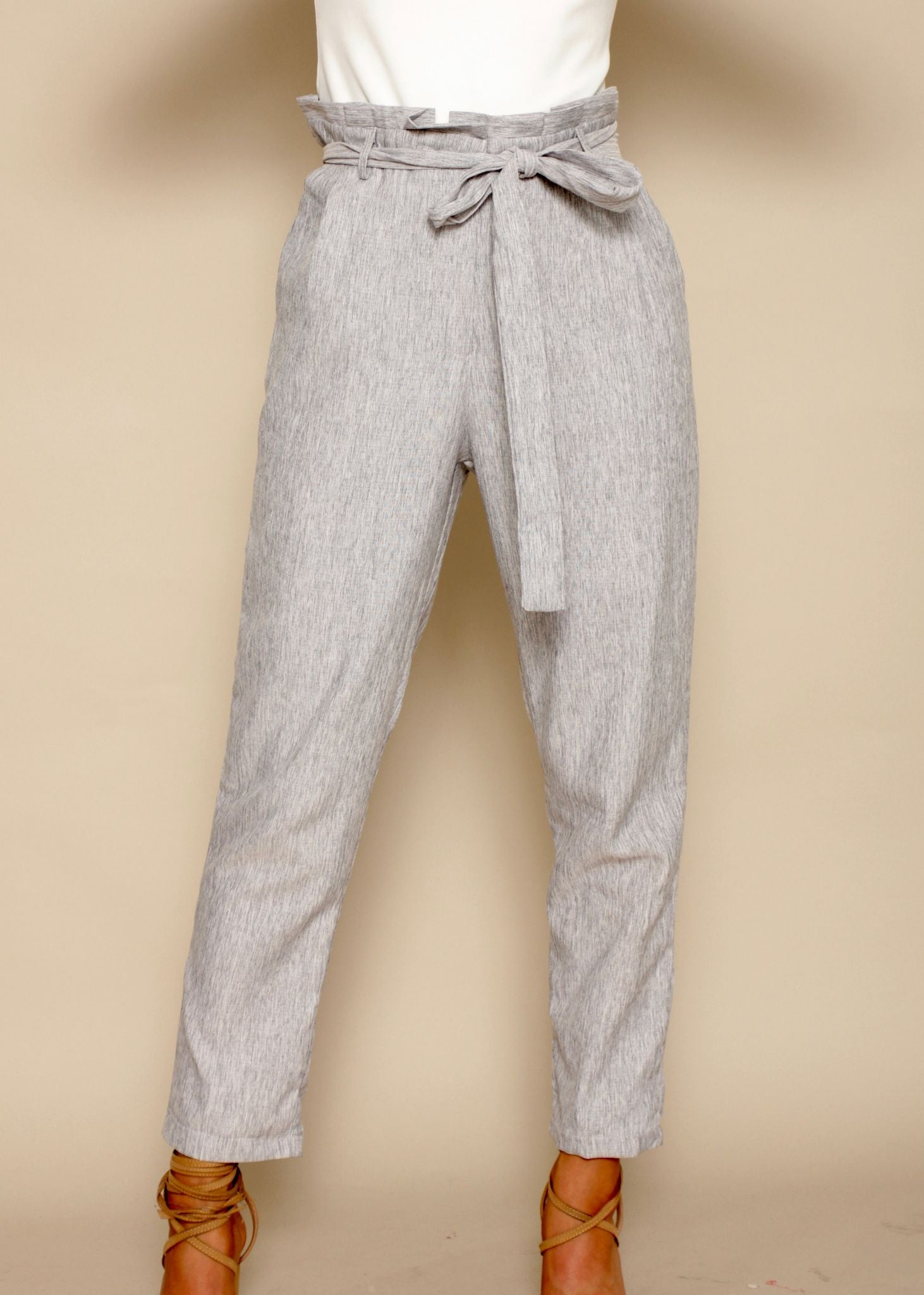 Empire Tailored Pants - Grey