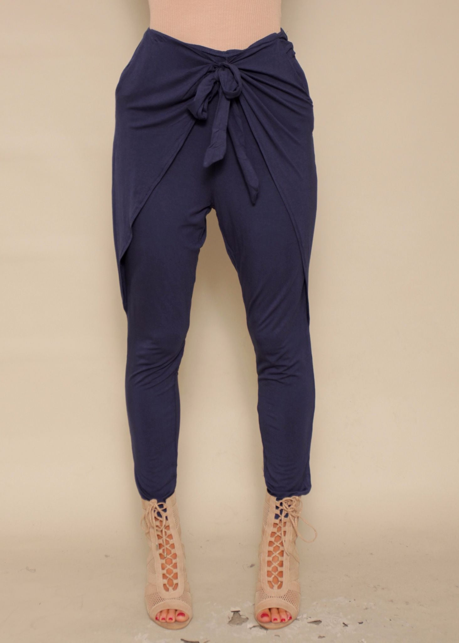 Sweet Solace Pants - Navy