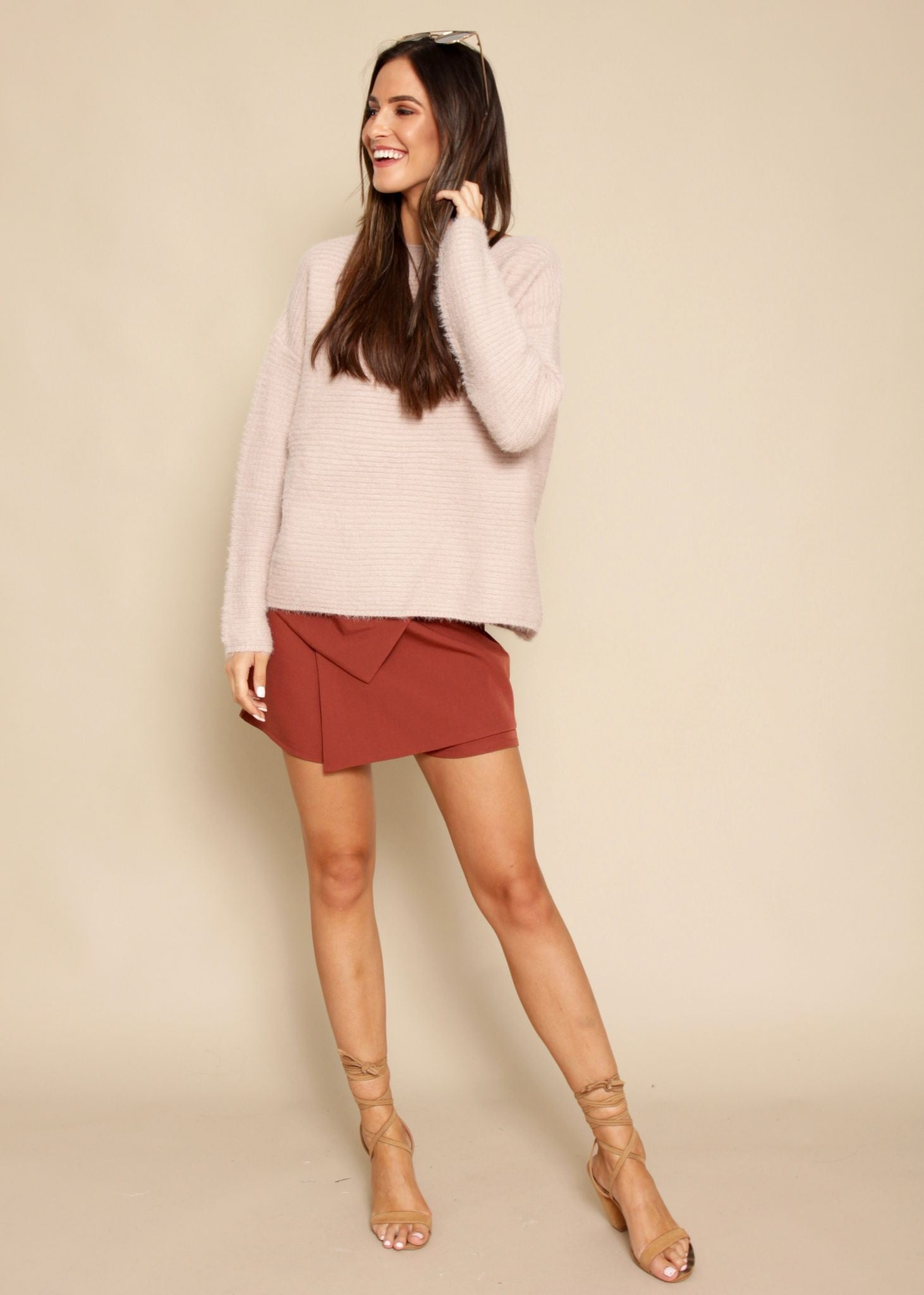 Make Melodies Sweater - Mauve