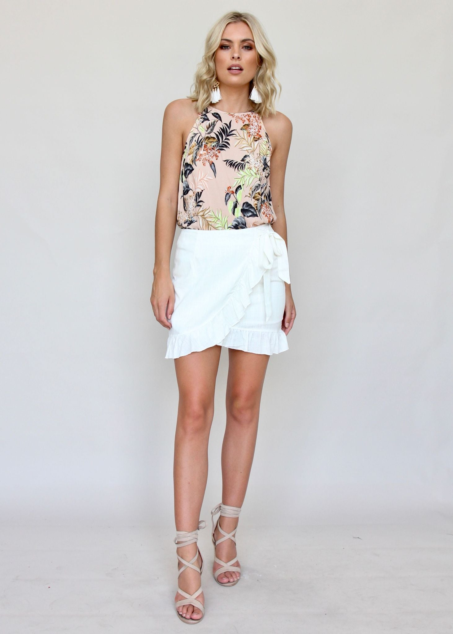 Above All Skirt - White