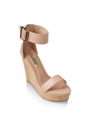 Billini - Seychelles Wedge - Nude