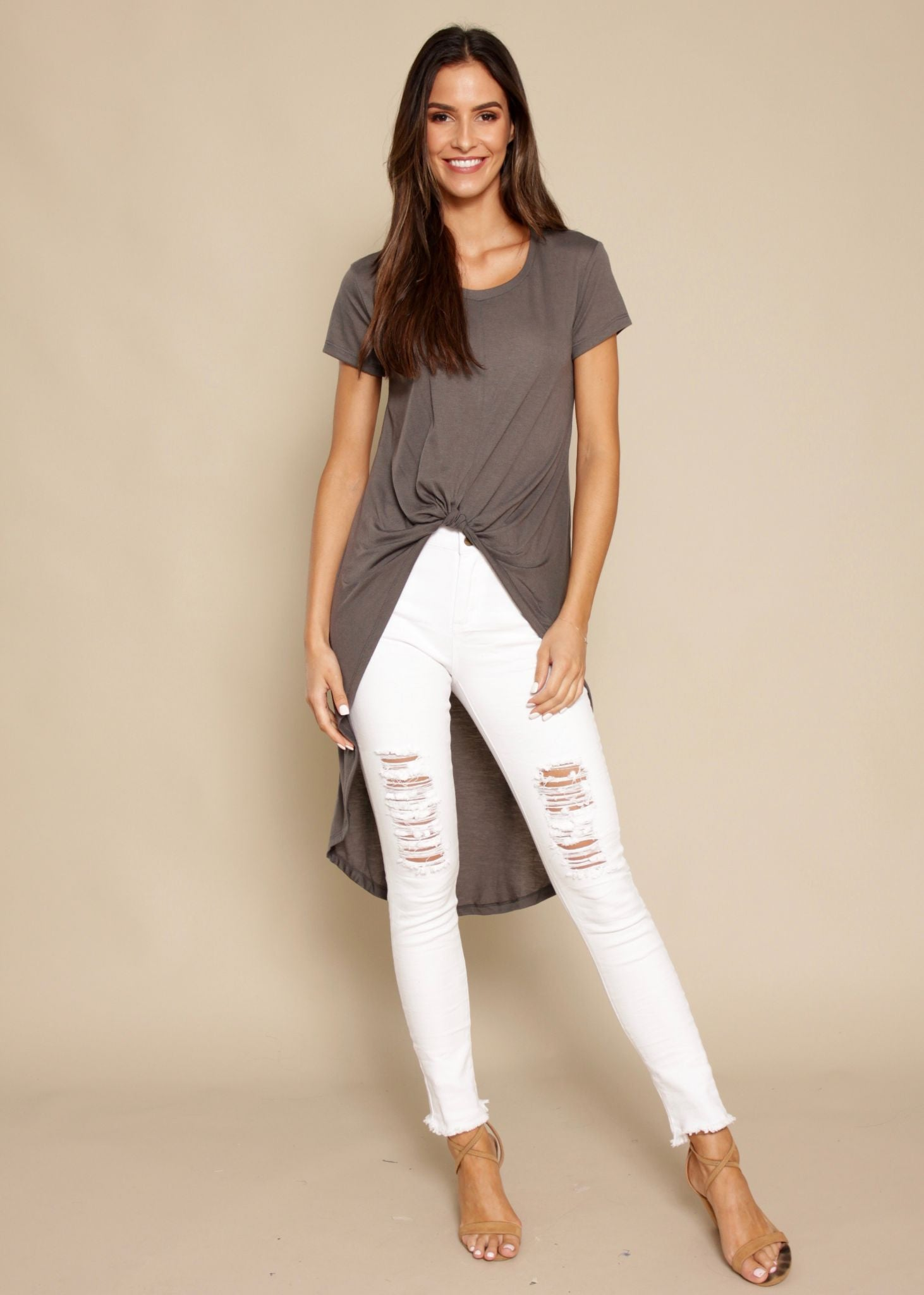Refuge Second Skin Jeans - White