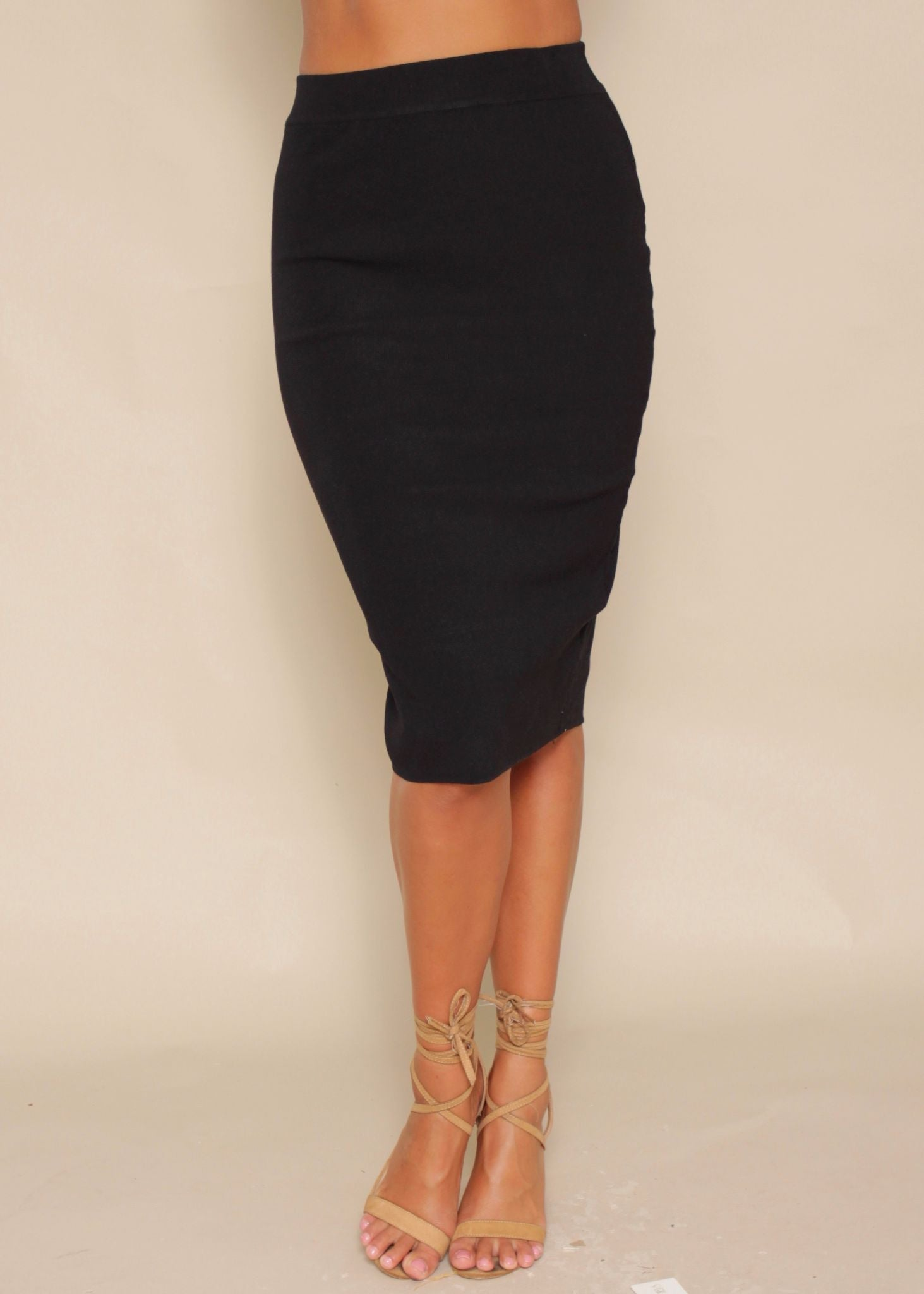Mile High Skirt - Black