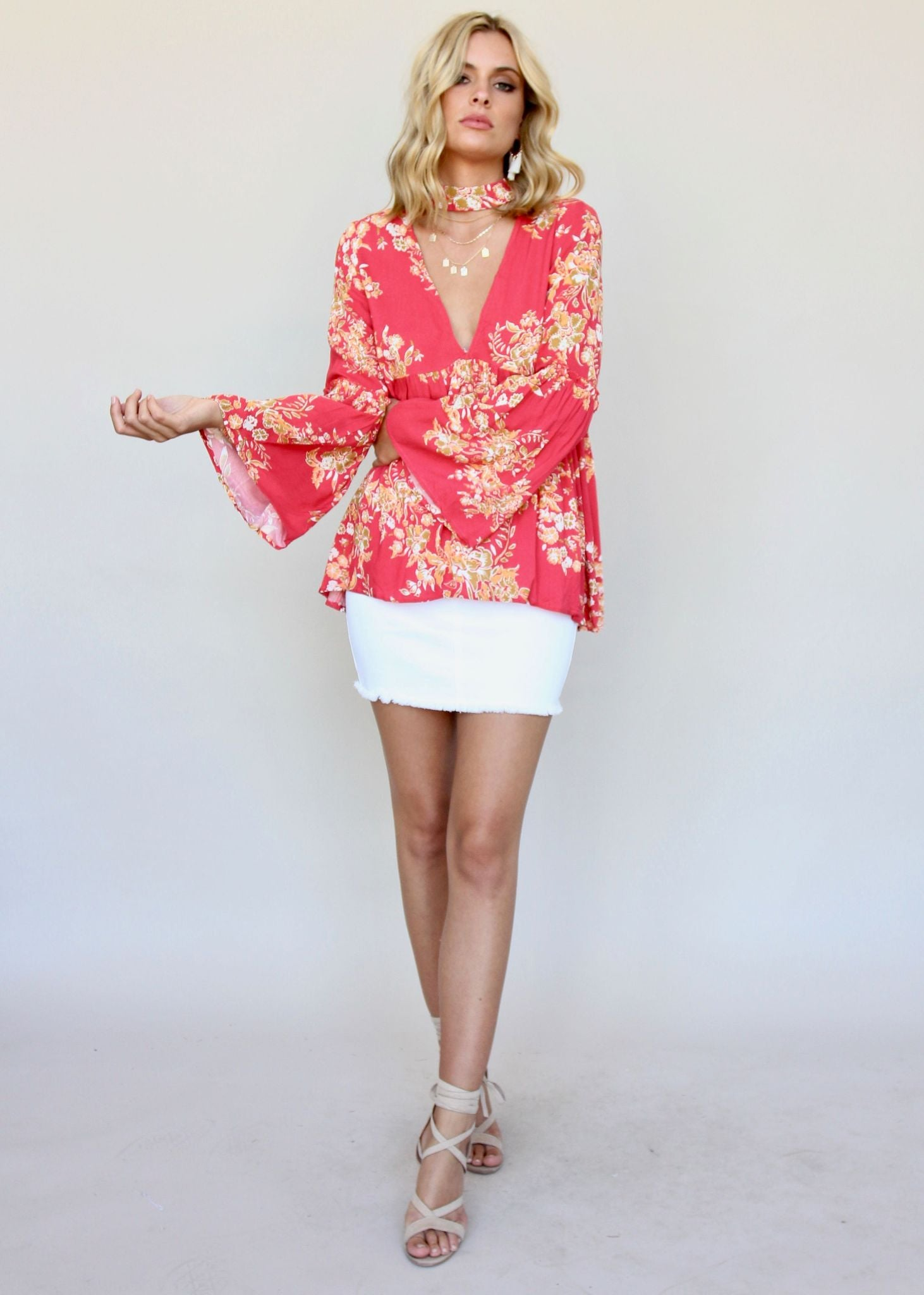 Your Pick Blouse - Blossom