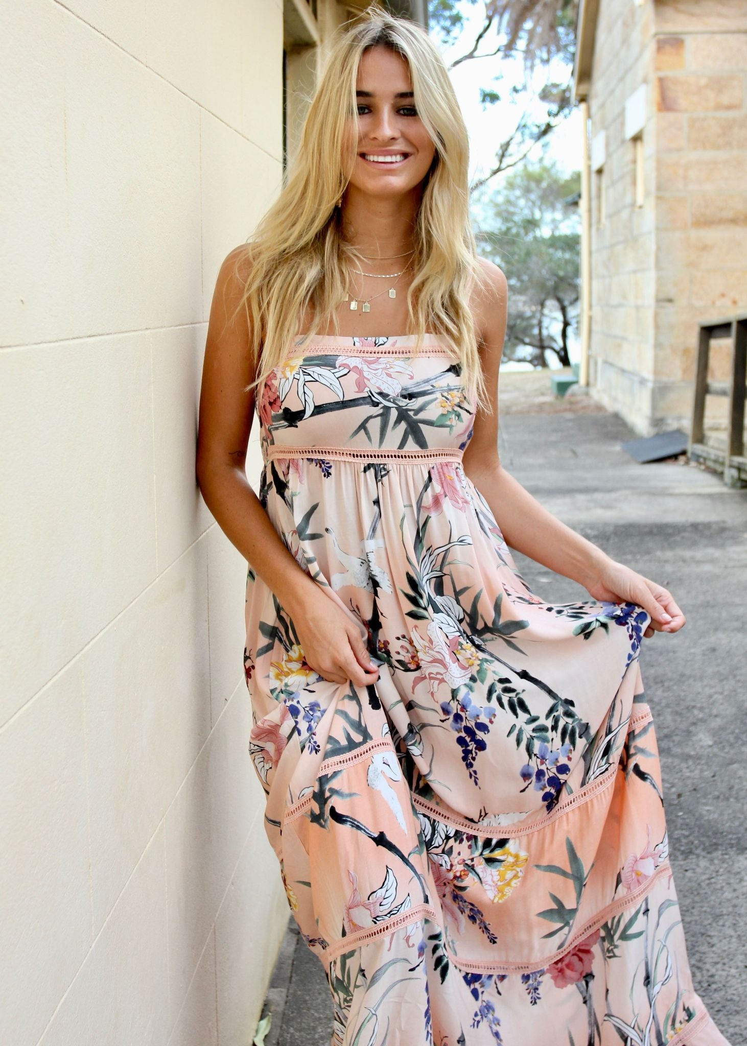 Callie Maxi Dress - Cupid