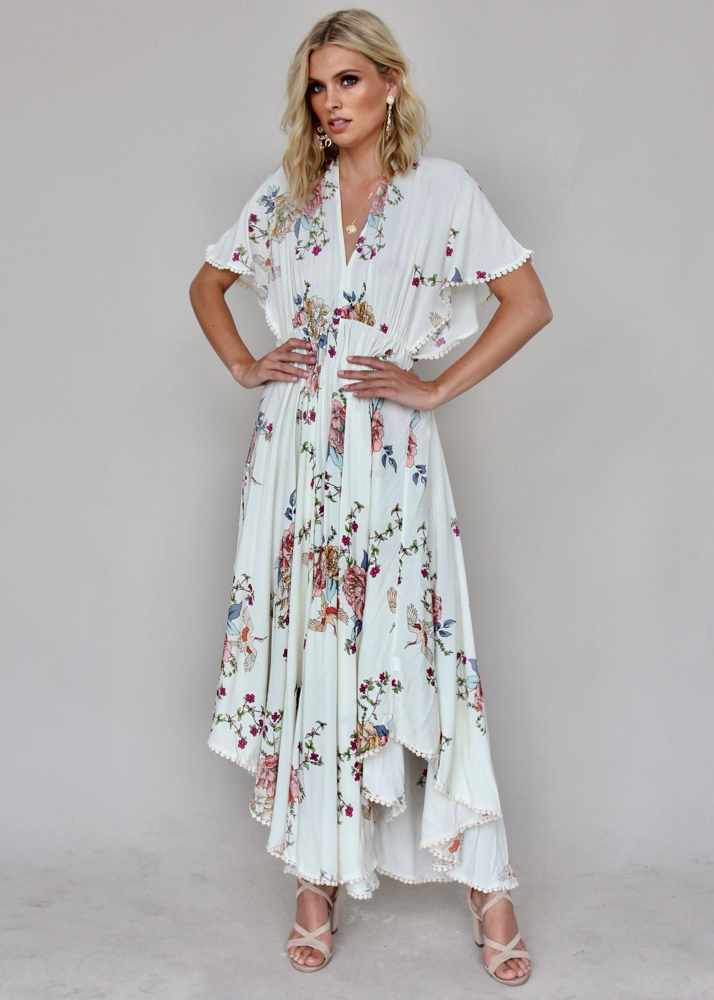 Dana Maxi Dress - Flamingo Dancing