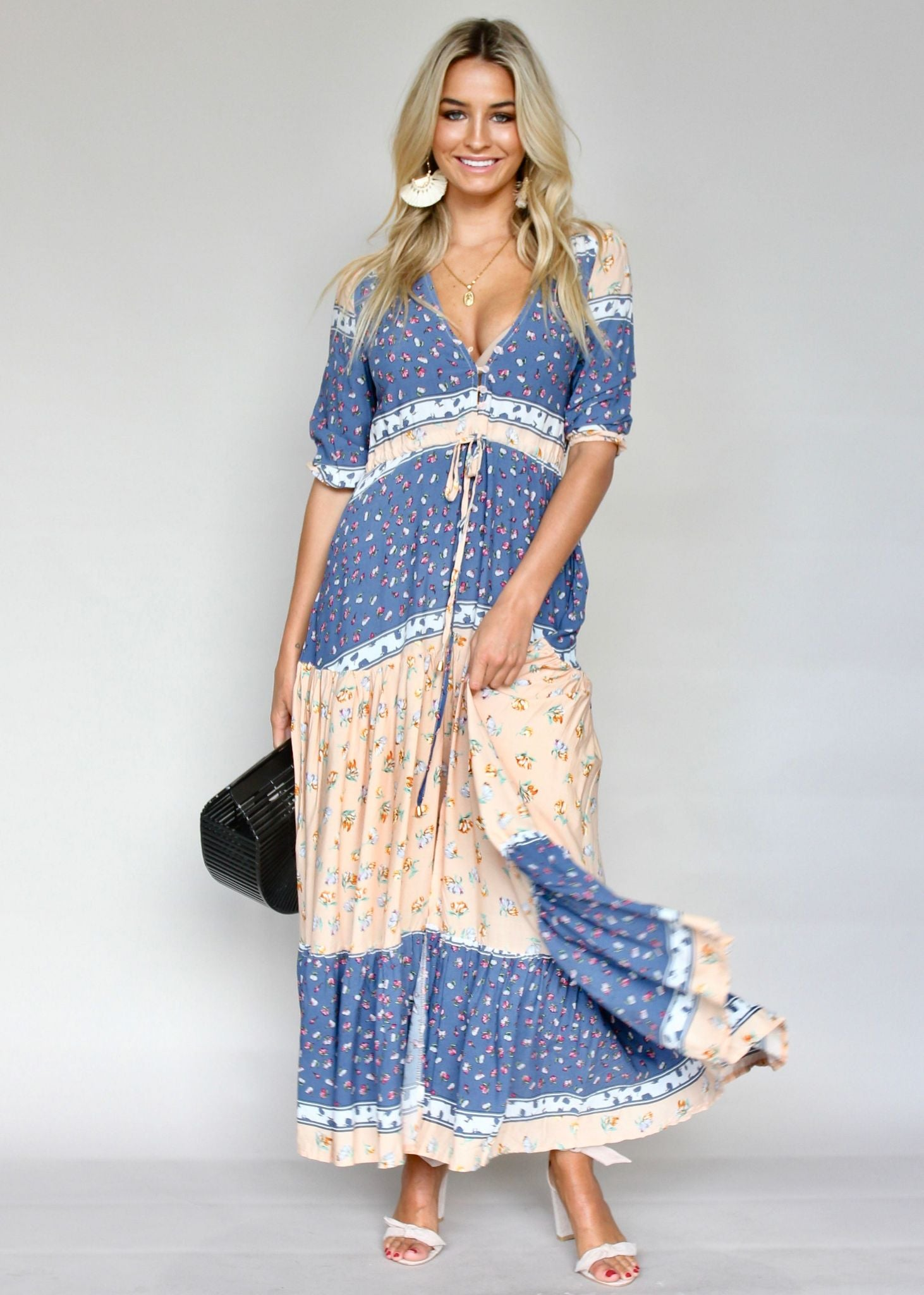 Tessa Maxi Dress - Midsummer Nights