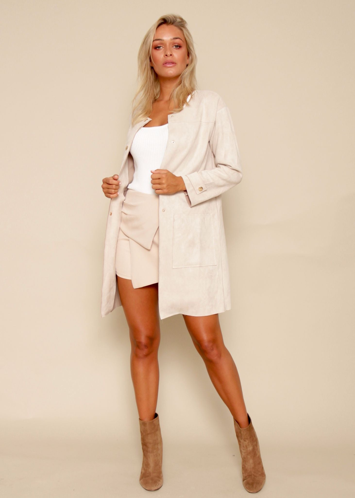 Forever Yours Jacket - Nude