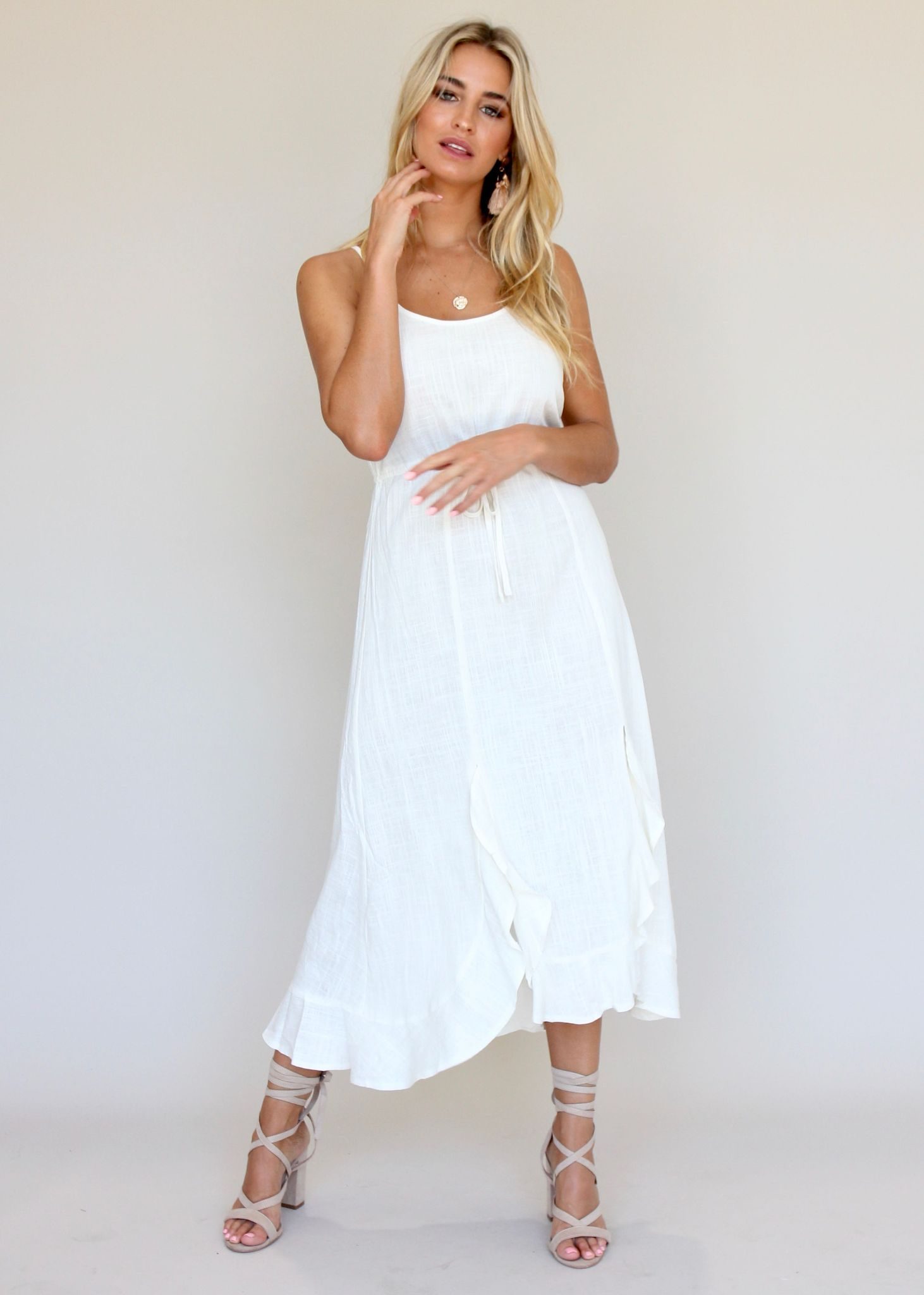 Dreamy Ways Dress - White