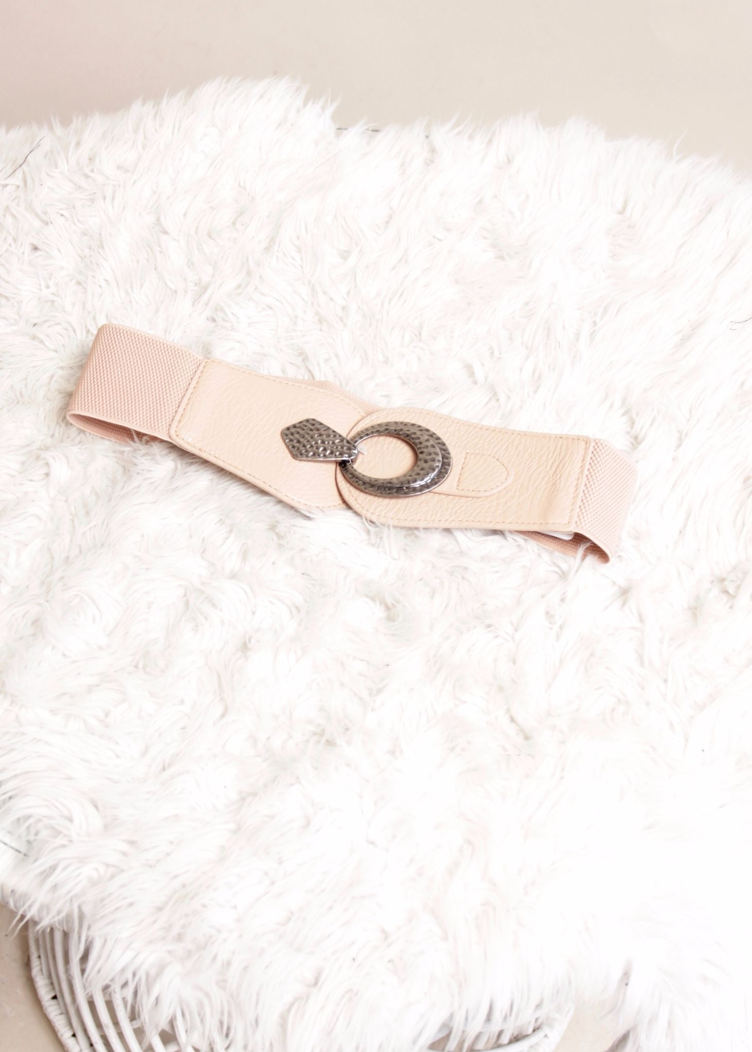 Spin Me Belt - Nude