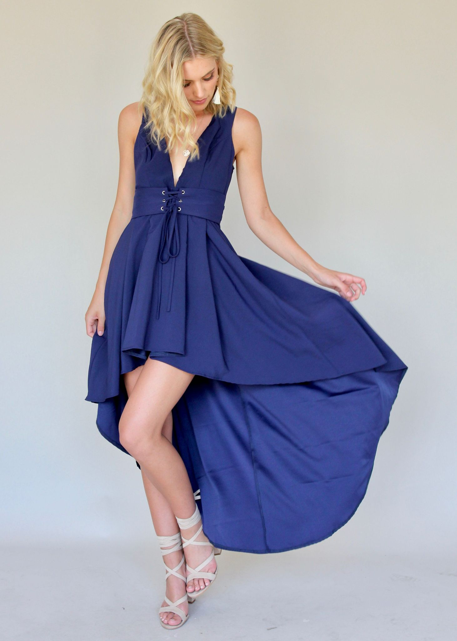 As You Were Dress - Navy