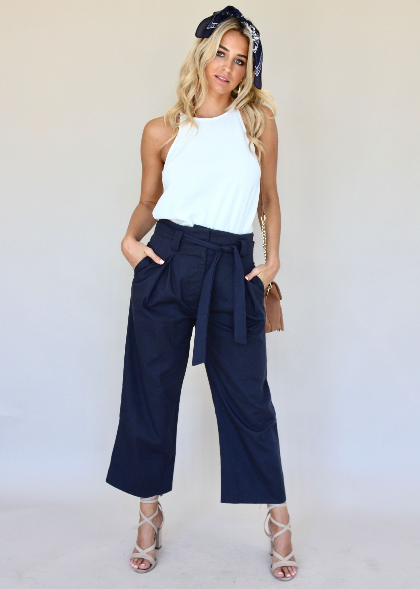 Lady of Manor Pants - Navy