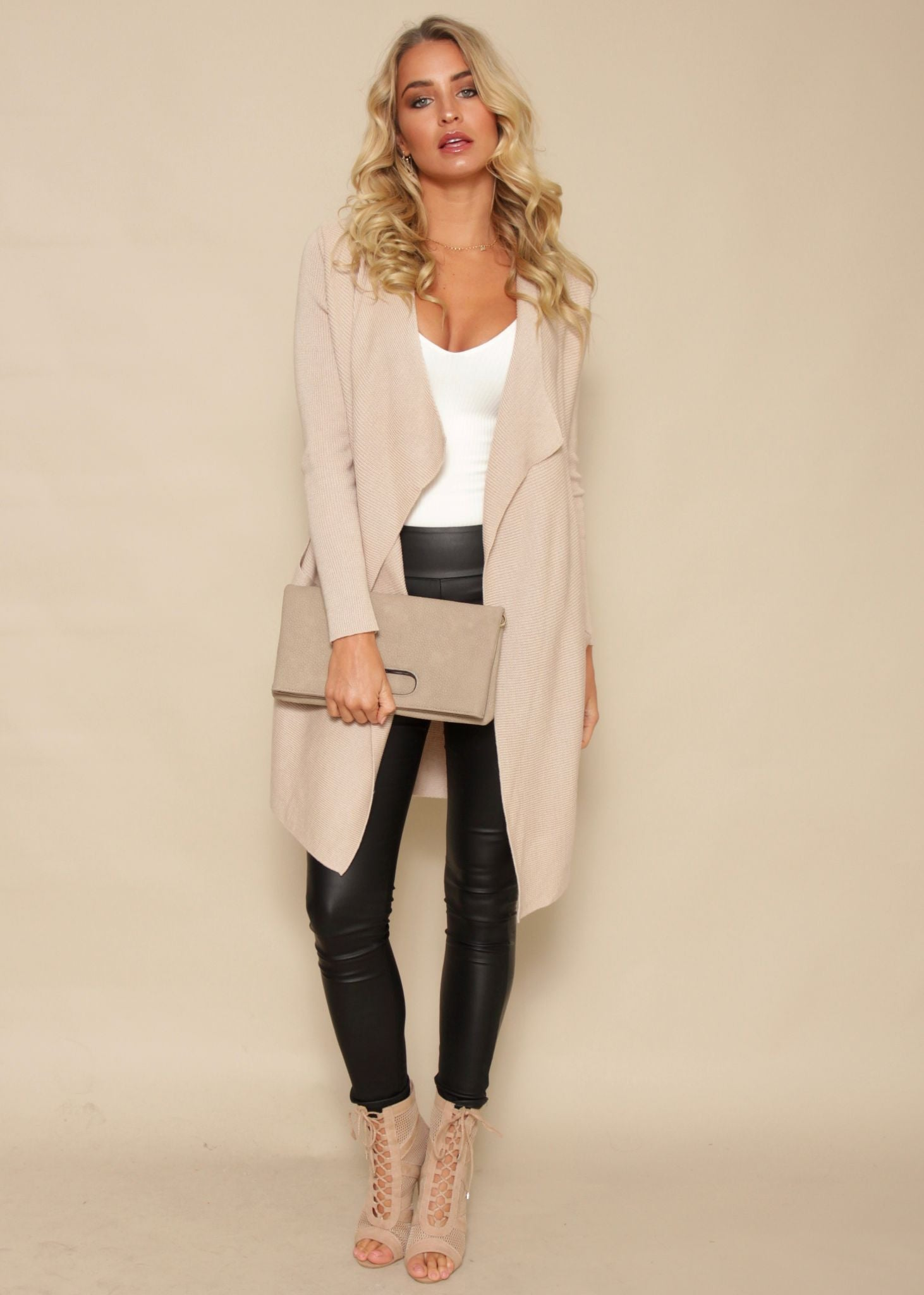 Close Encounters Knit Cardigan - Blush