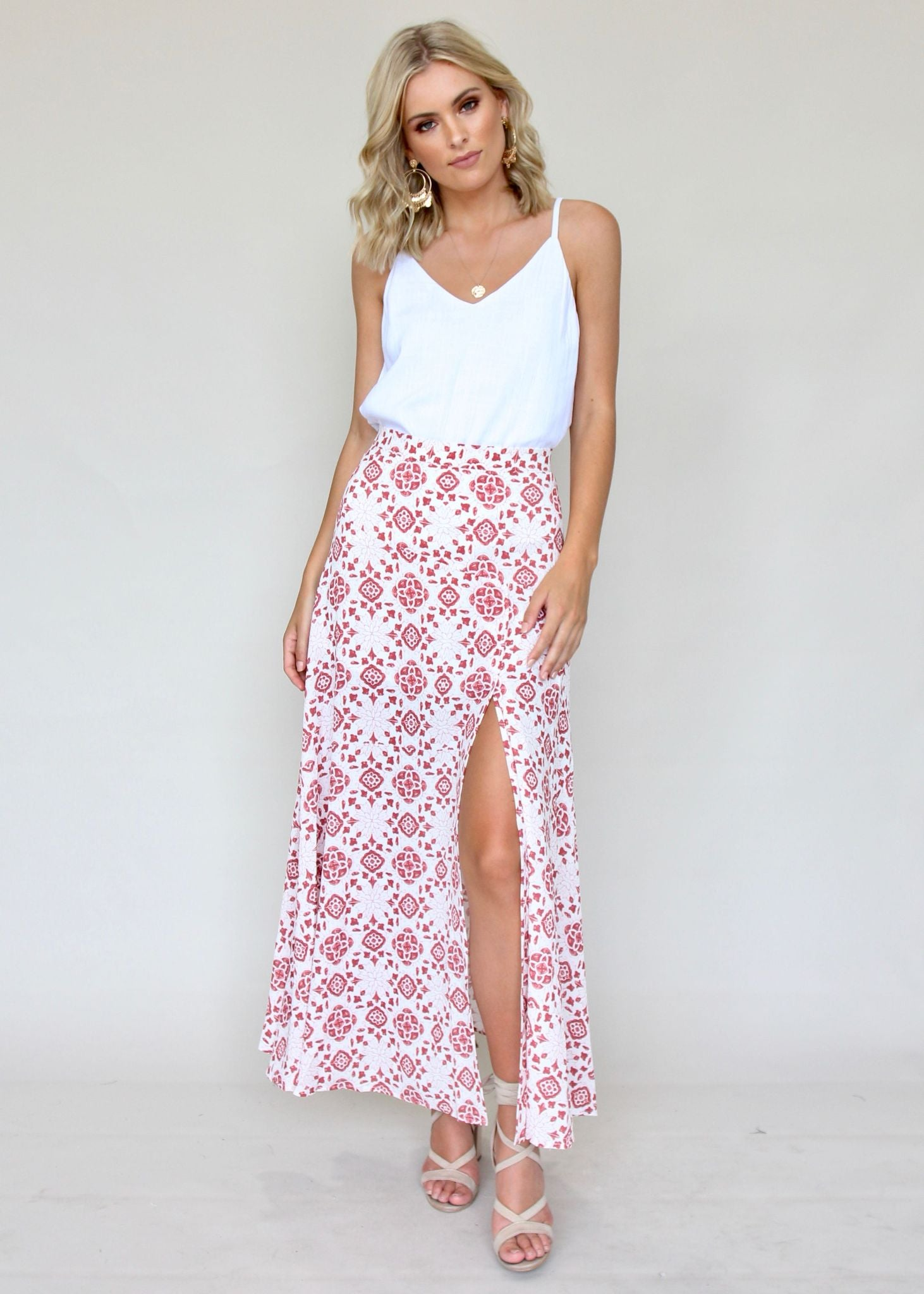 Days of Heaven Maxi Skirt - Oribe