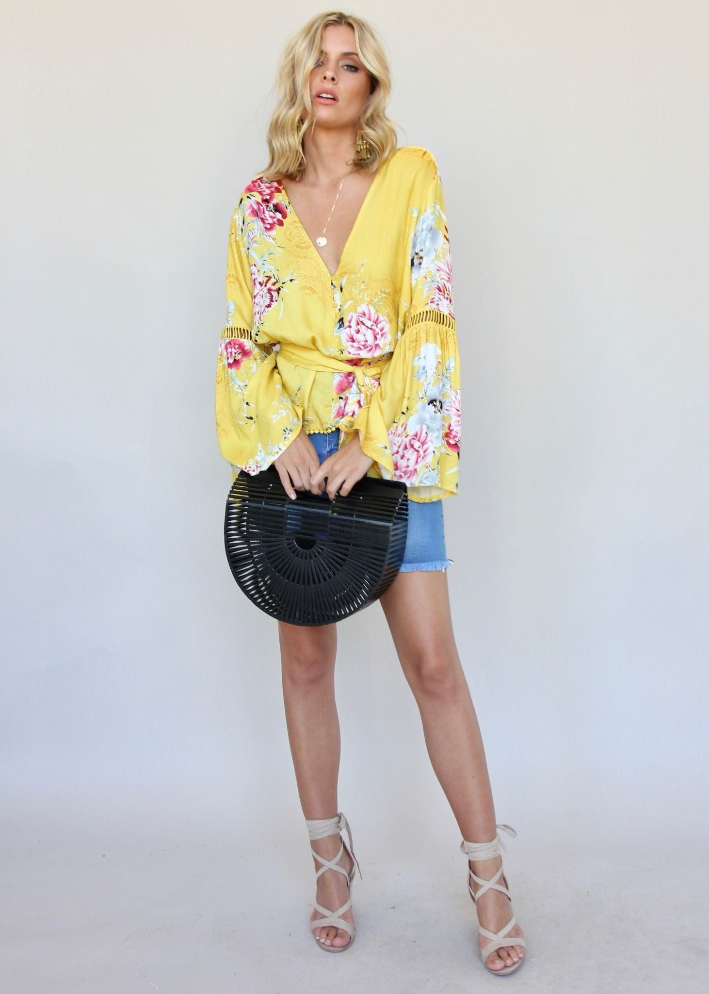 Scarlett Blouse - Summer Sunshine