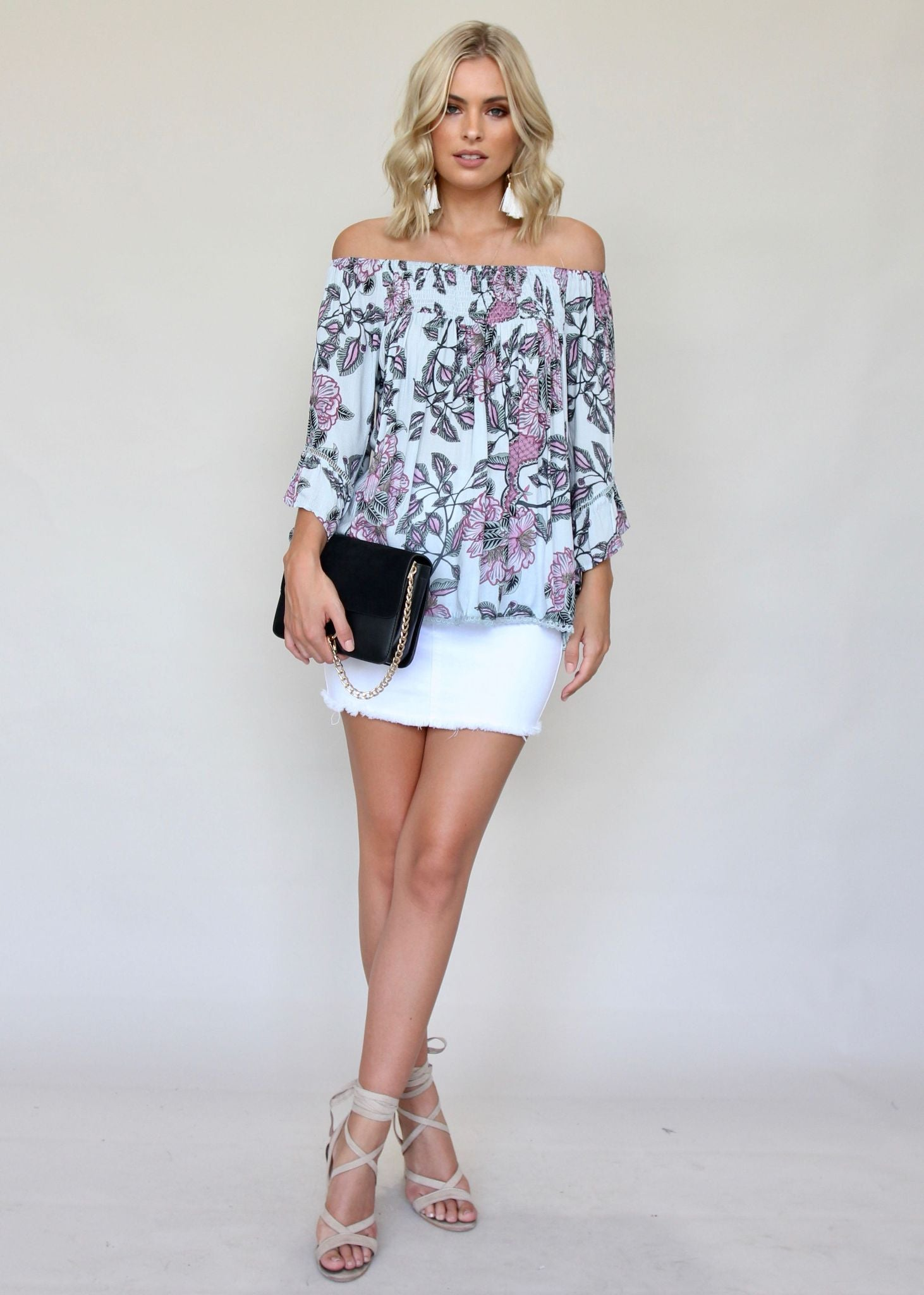 Sugar Night Off Shoulder Top - Pandora