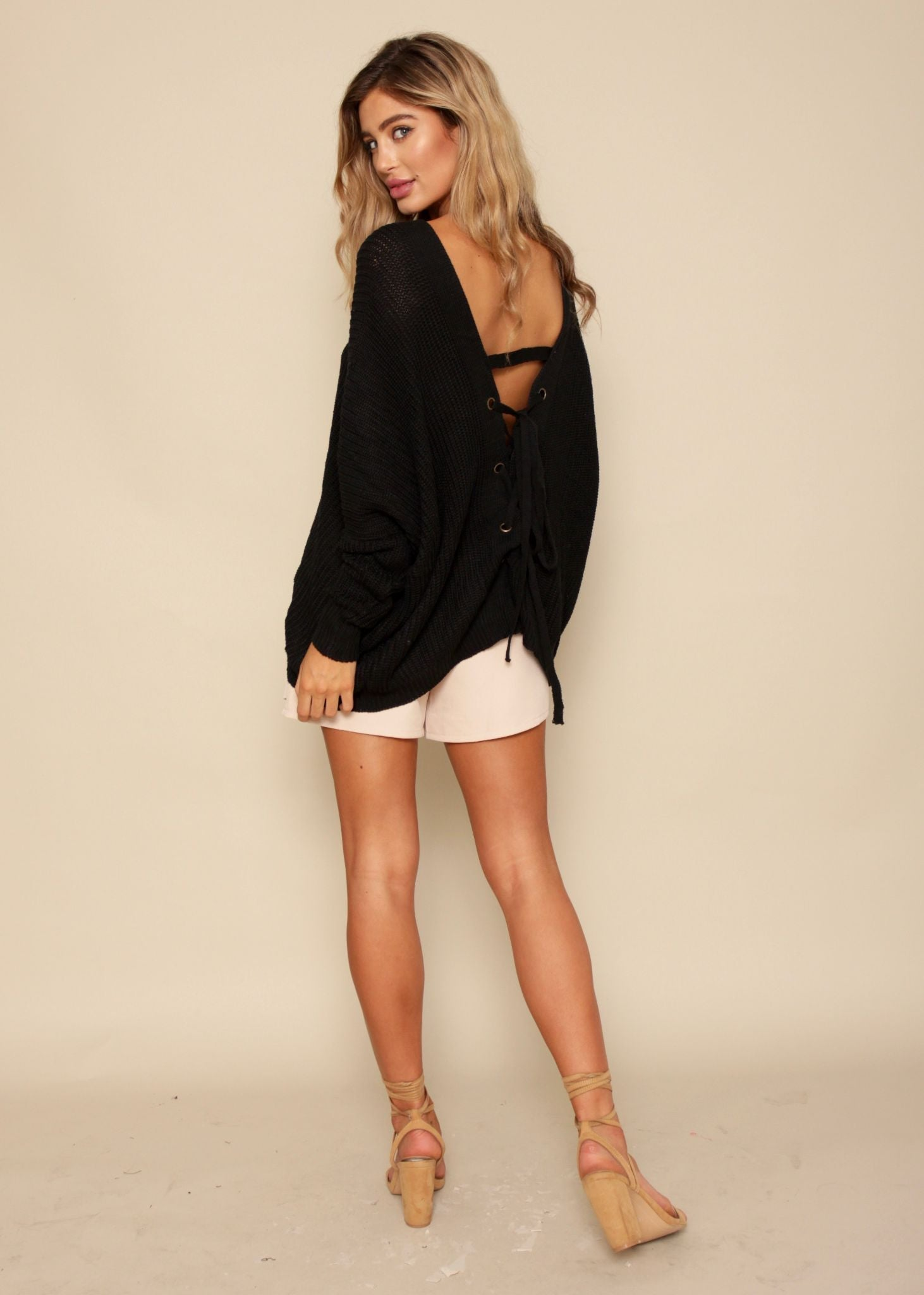Right Direction Sweater - Black