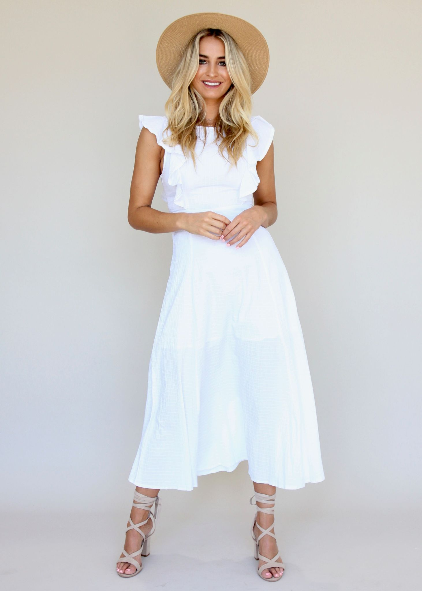 Body Of Work Dress - White