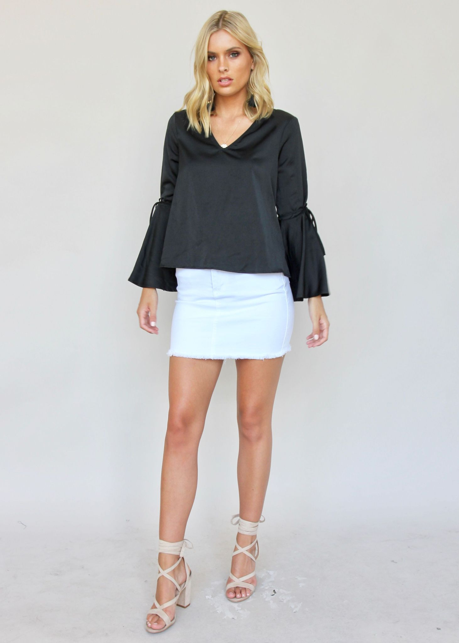 City Girl Blouse - Black