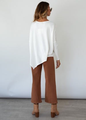 Louie Knit Top - Off White