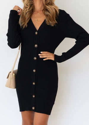 Emmit Knit Dress - Black