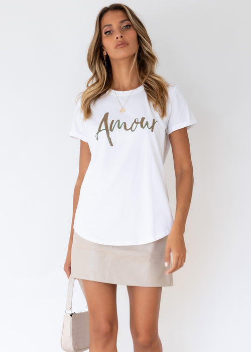 Amour Tee - Off White