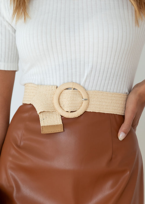 Aubri Belt - Cream