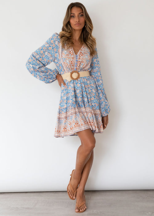 My Embrace Dress - Moroccan Blue