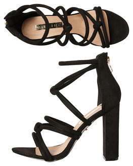c1fcb61caf7a Billini - Lavinia Heels - Black Suede – Gingham and Heels