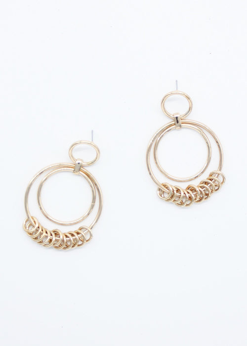 Breton Earrings - Gold
