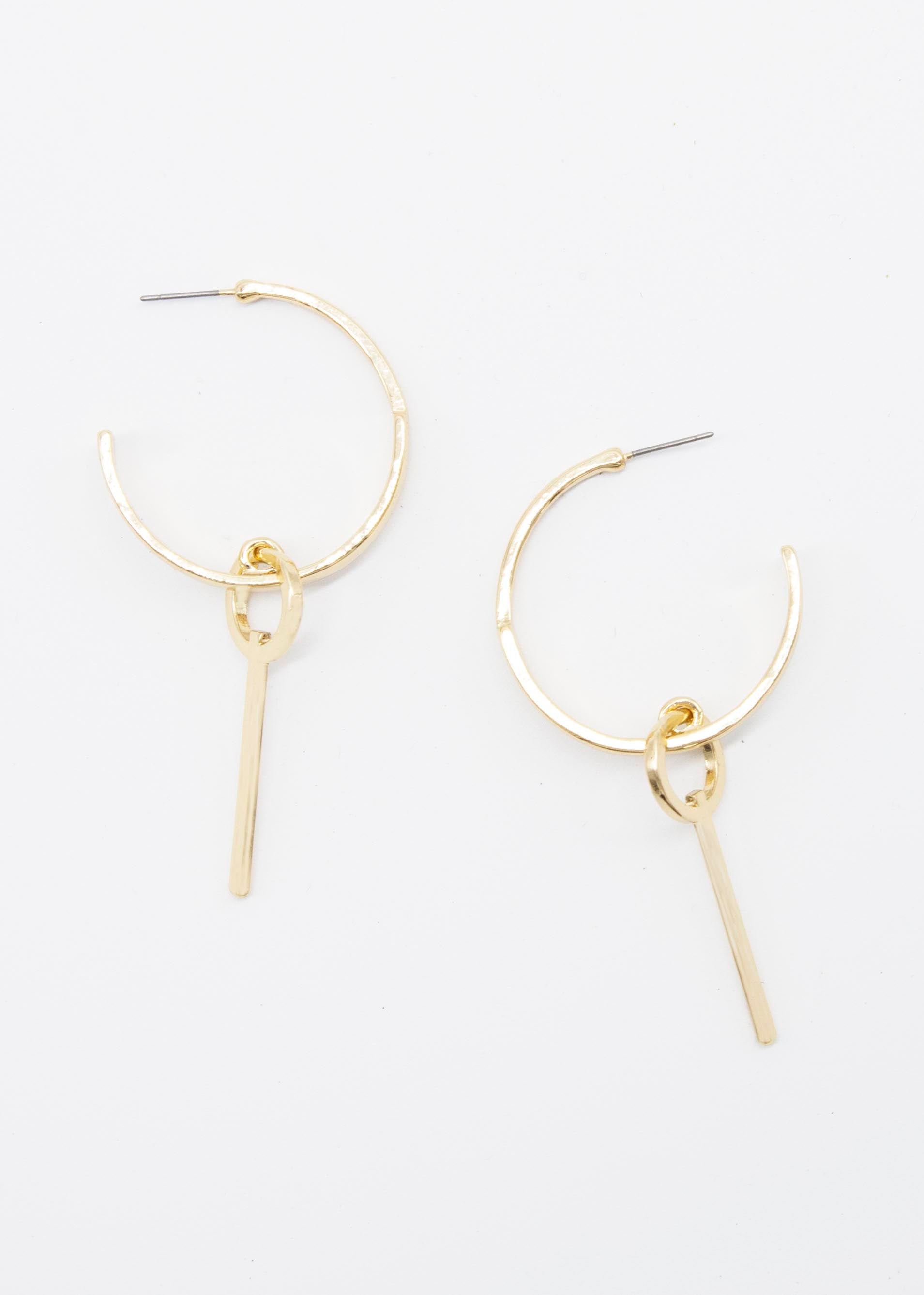 Bianco Earrings - Gold