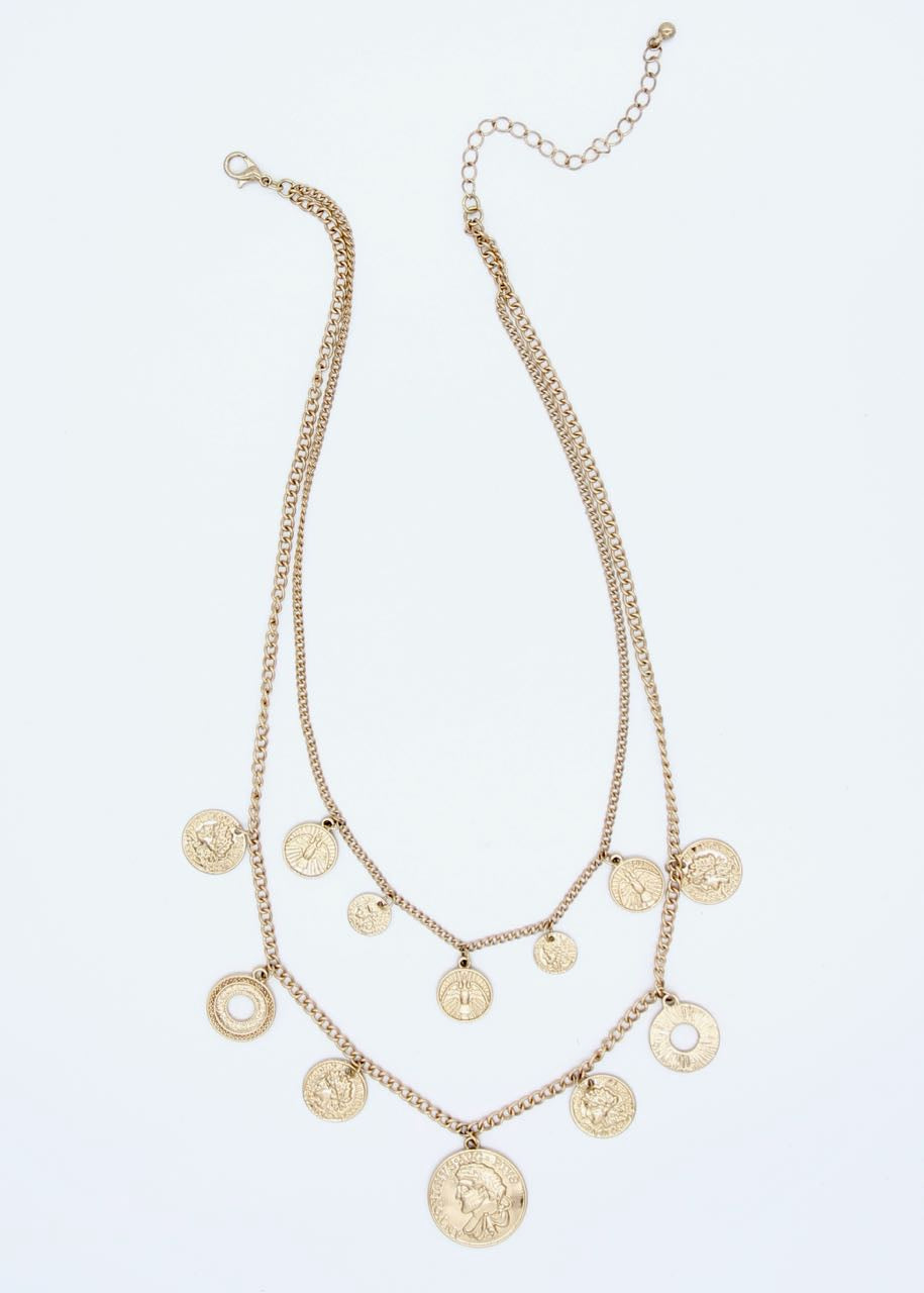 Cairo Necklace - Gold
