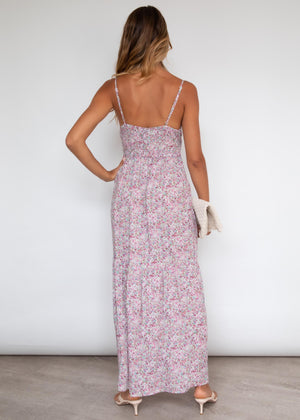 Raleigh Maxi Dress - Blush Floral