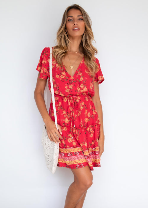 Sunny Valley Dress - Berry Summer